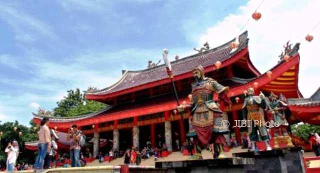 Klenteng Sam Poo Kong Padat Wisatawan Dinas Kebudayaan Memanfaatkan Panorama