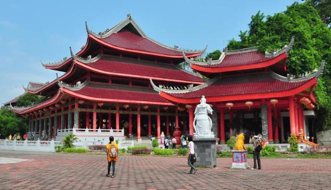 Wisata Religi Klenteng Sam Po Kong Kota Semarang Jawa Kab