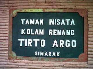 Tempat Wisata Ungaran Kolam Renang Tirto Argo Siwarak Kab Semarang