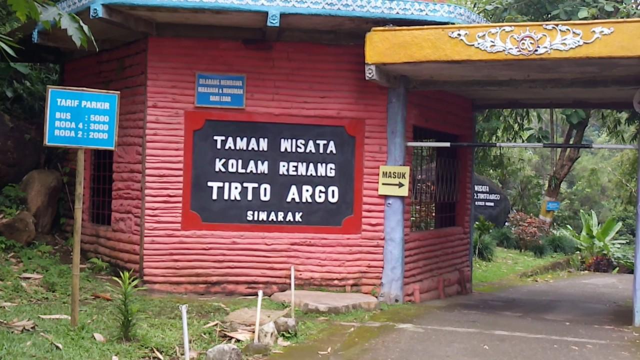 Trip Adventure Kolam Renang Tirto Argo Siwarak Ungaran Wisata Jawa