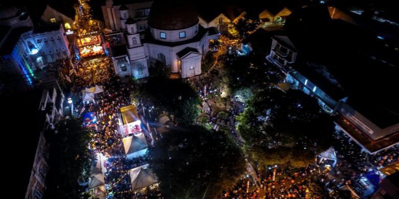 4 Alasan Datang Festival Kota Semarang 2017 Kompas Keramaian Pasar