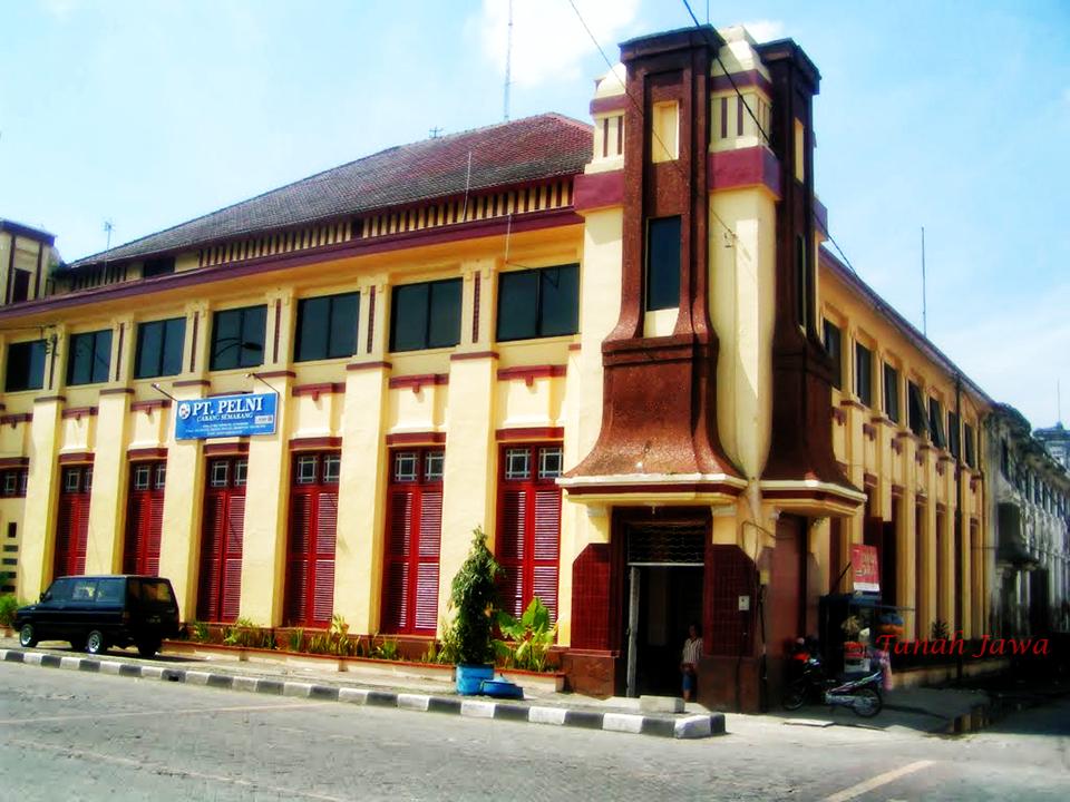 Berjalan Kepingan Netherland Kota Tanah Jawa Kawasan Semarang Disebut Outstadt