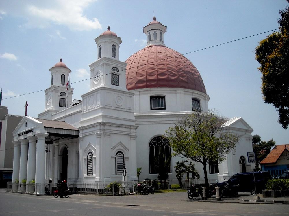 Kota Semarang Berbagai Informasi Terserak Gereja Blenduk Kab
