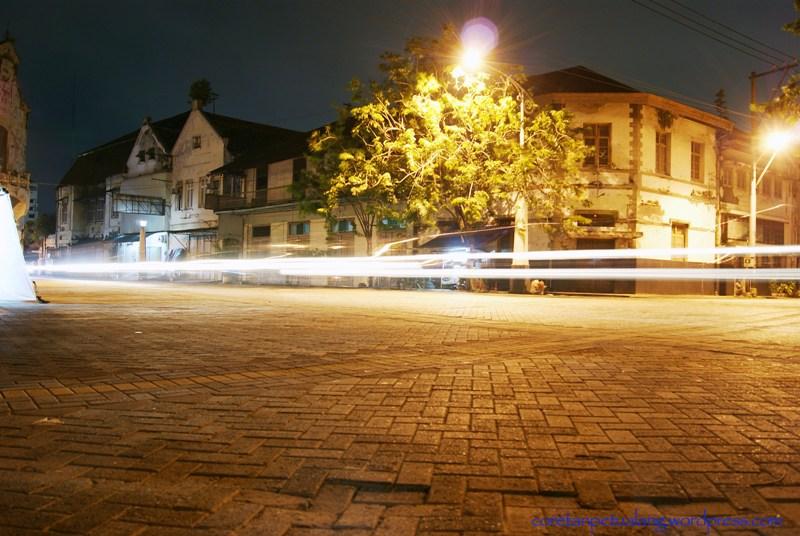 Kota Semarang Jelajah Kampung Eropa Malam Hari Dikawasan Tak Kab