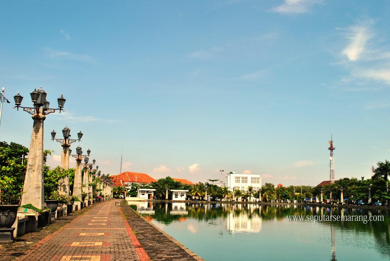 Lokasi Tempat Foto Pre Wedding Semarang Polder Tawang Kota Kab