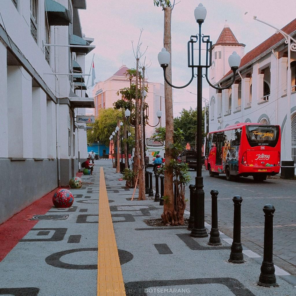 Photoblog Bola Pedestrian Kota Semarang Kab