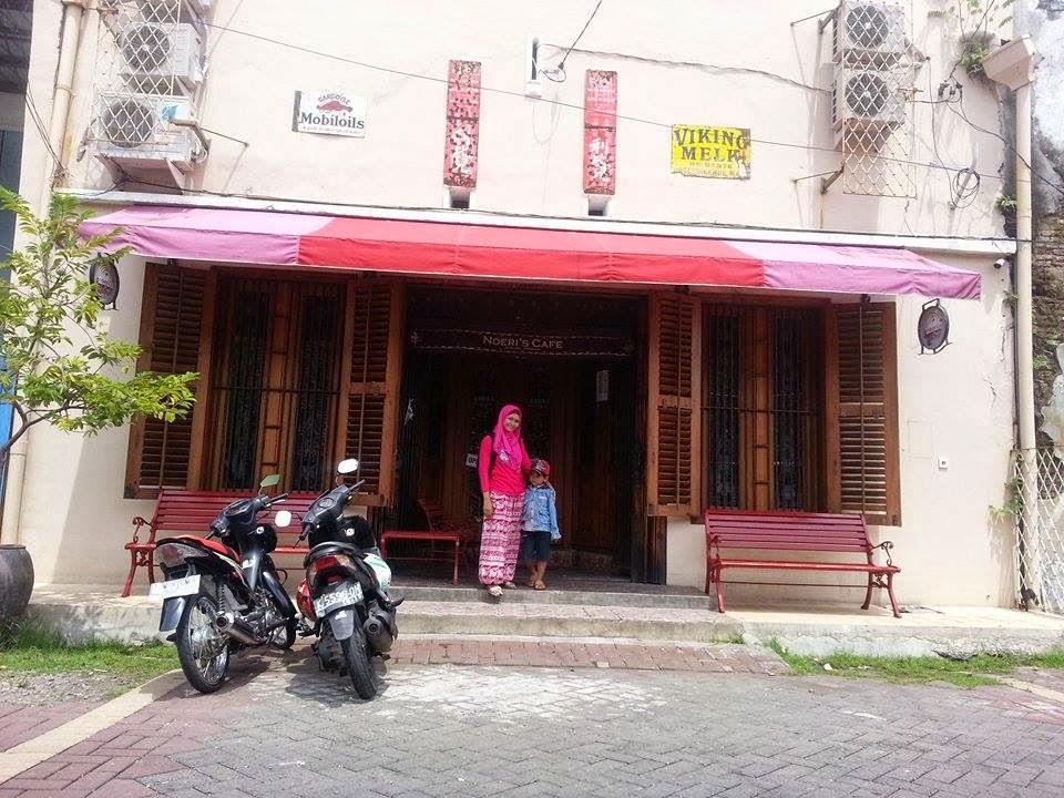 Small Kecil Tapi Penting Noeris Cafe Kota Semarang Letaknya Belakang