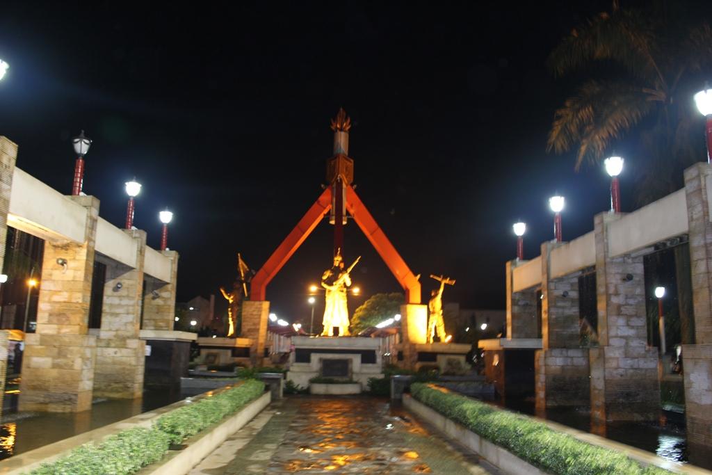 Ungaran Pusat Kota Kabupaten Semarang Tiga Alun Pertama Kab