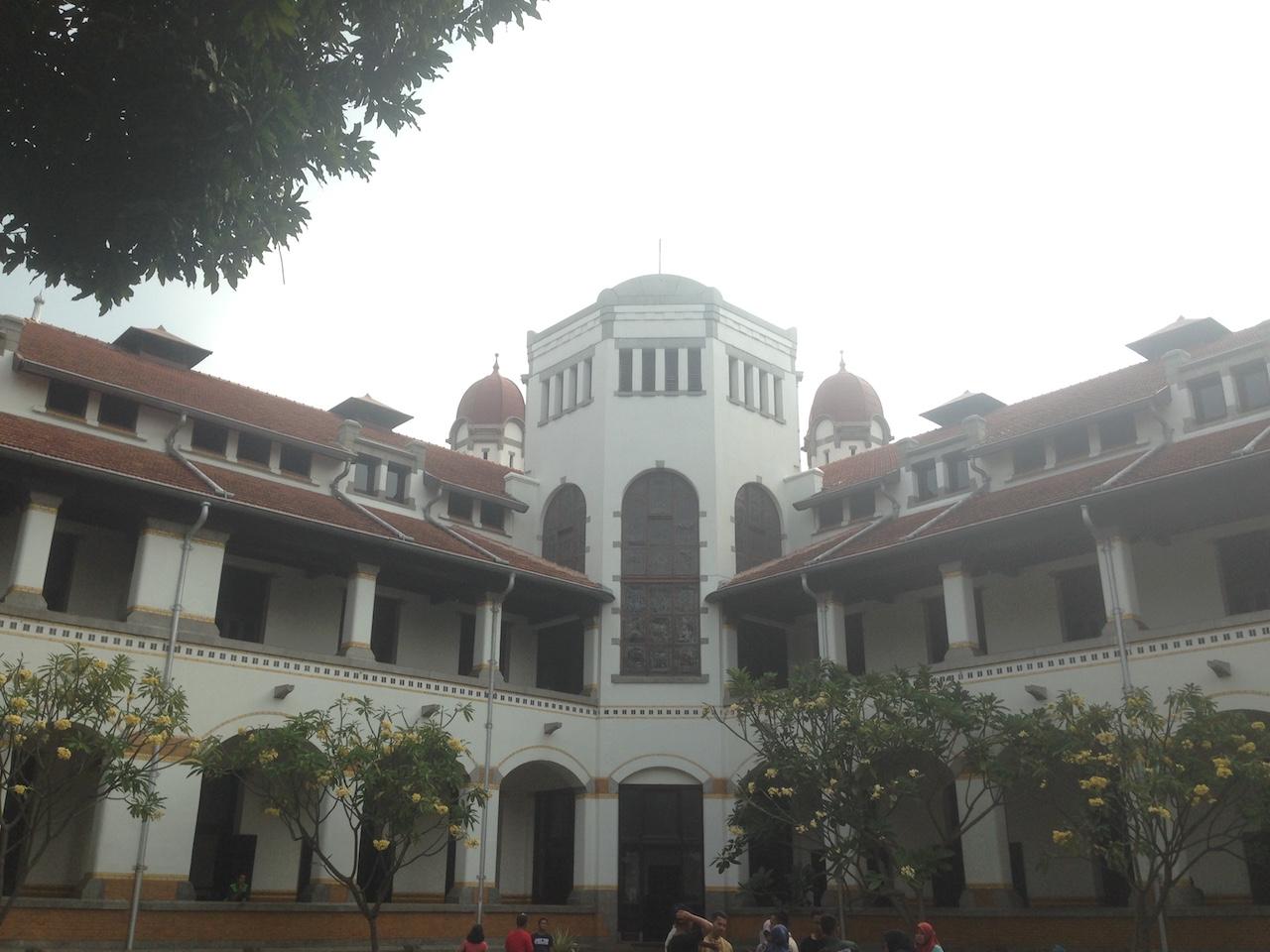Berkunjung Lawang Sewu Semarang Arif Setiawan Bangunan Utama Kab