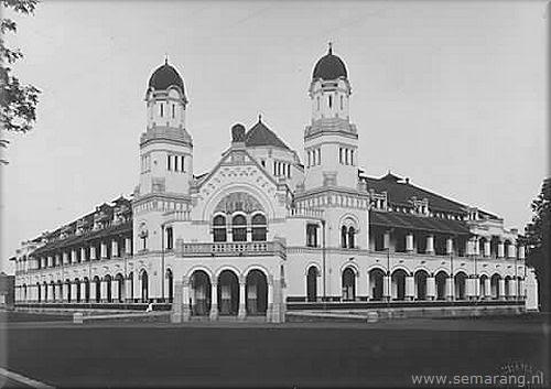 Konservasi Arsitektuk Bangunan Lawang Sewu Dibangun 27 Februari 1904 Oleh