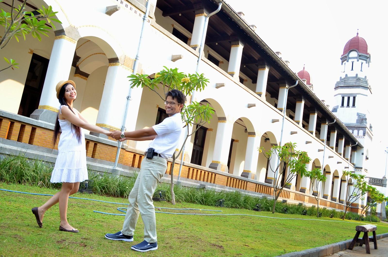 Kunjungi 10 Tempat Keren Foto Pre Wedding Semarang Lawang Sewu