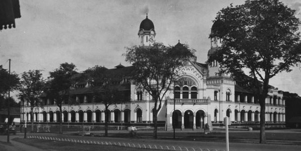 Lawang Sewu Tempo Dulu Indonesian Heritage Kab Semarang