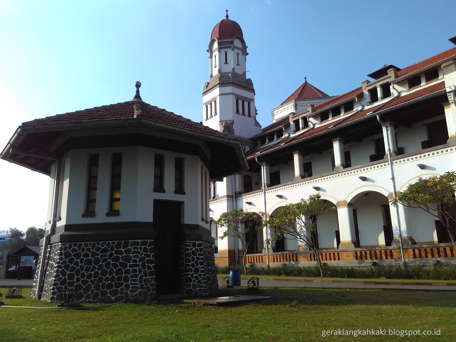 Mengagumi Lawang Sewu Bangunan Cagar Budaya Nasional Asal Usul Nama