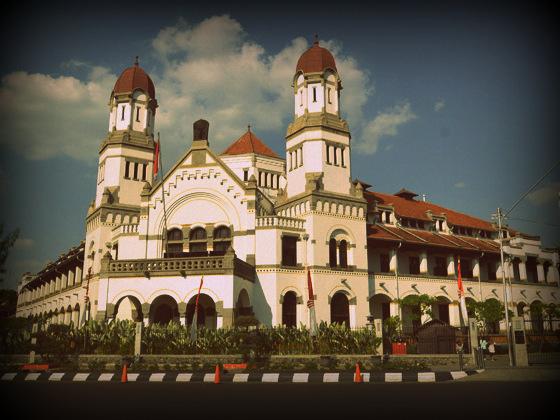 Objek Wisata Lawang Sewu Semarang Daftar Kab