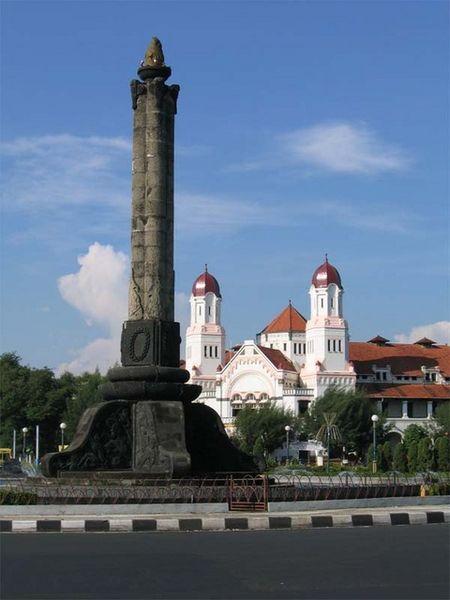 Obyek Wisata Jawa Tengah Semarang Lawang Sewu Www Karyajasa Id
