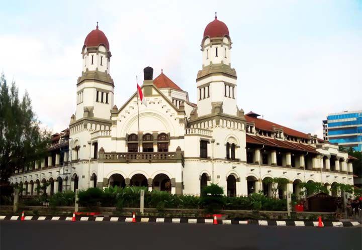 Sejarah Lawang Sewu Semarang Informasi Budaya Wisata Kebumen Salah Satu