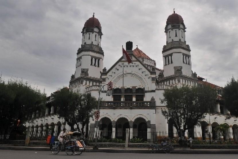 Tunggak Pajak Lawang Sewu Empat Klarifikasi Kai Cagar Budaya Semarang