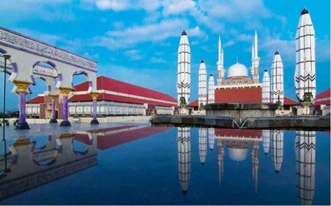 22 Tempat Wisata Semarang Hits Masjid Agung Jawa Tengah 2017