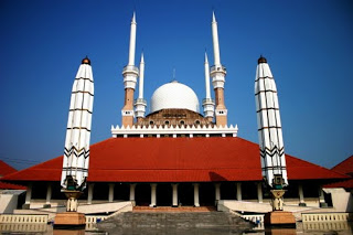 Agung Semarang Jawa Tengah Masjid Kab