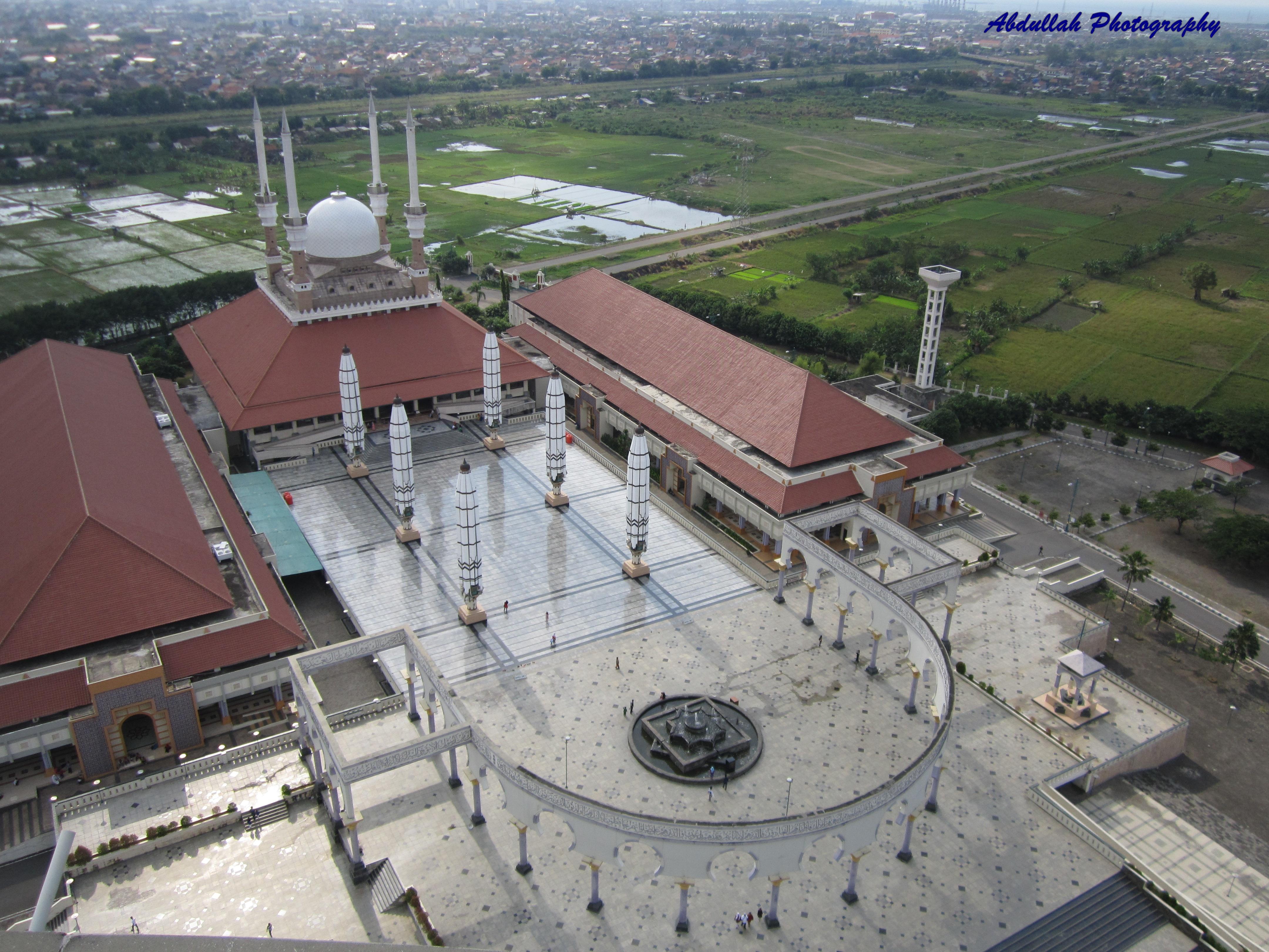 August 2013 Abdullah Hatta Selamat Datang Masjid Agung Jawa Tengah