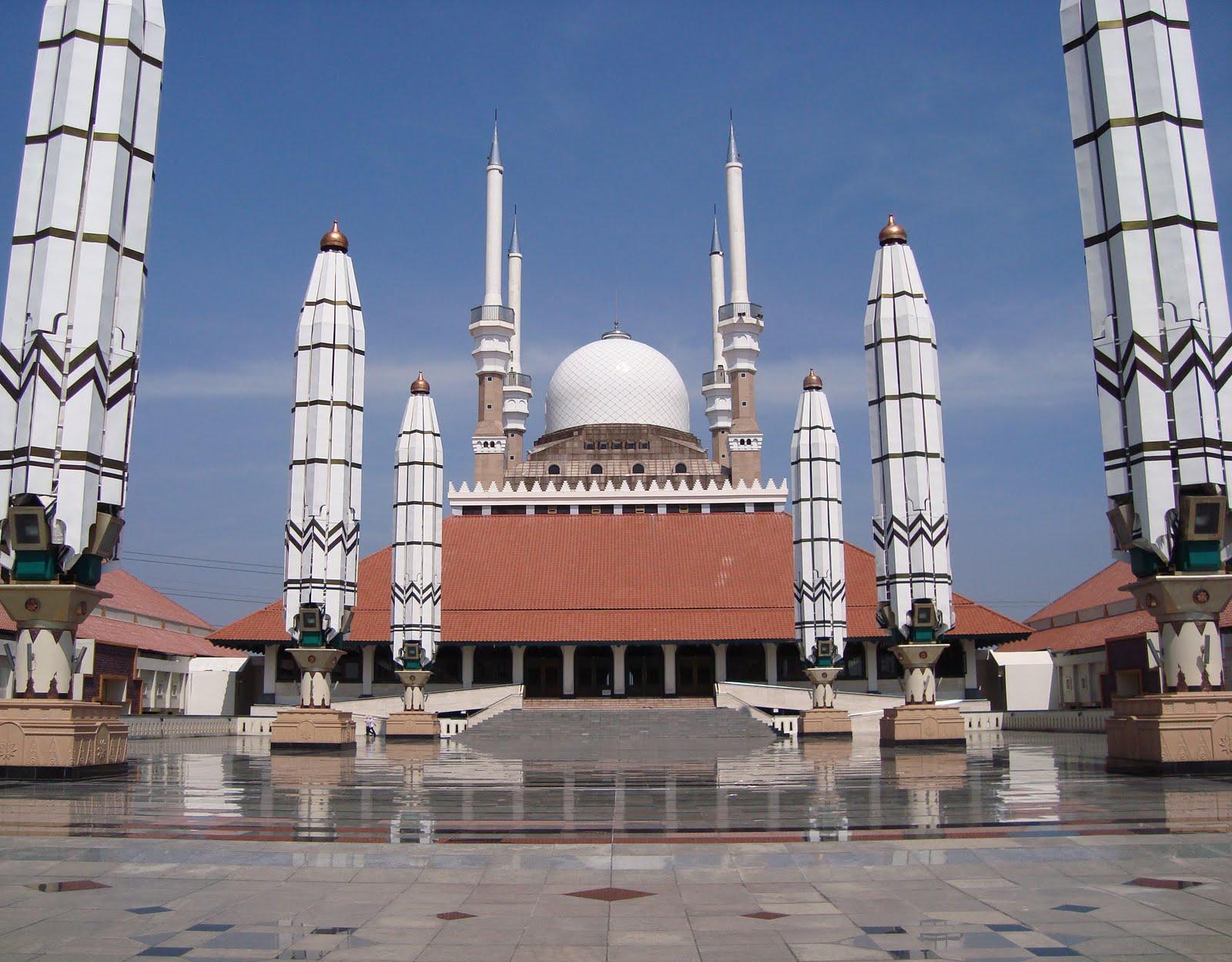 Biro Wisata Fortekindo Tour Masjid Agung Jawa Tengah Kab Semarang
