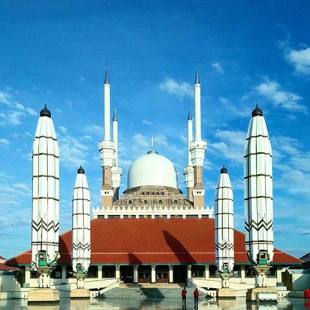 Info Lengkap Masjid Agung Jawa Tengah Salah Satu Termegah Semarang