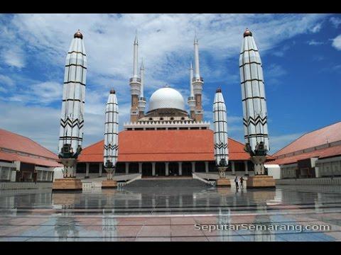 Masjid Agung Al Aqsha Klaten Jawa Tengah Semarang Kab