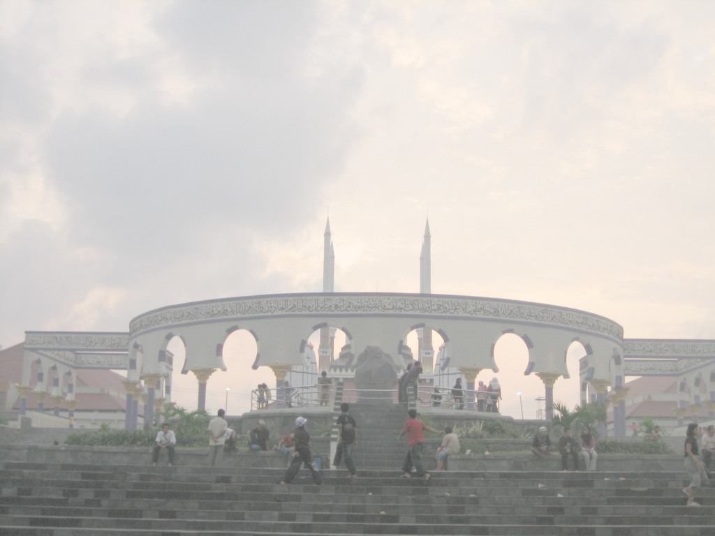 Masjid Agung Jawa Tengah Coretanpetualang Blog Berbagi Kab Semarang
