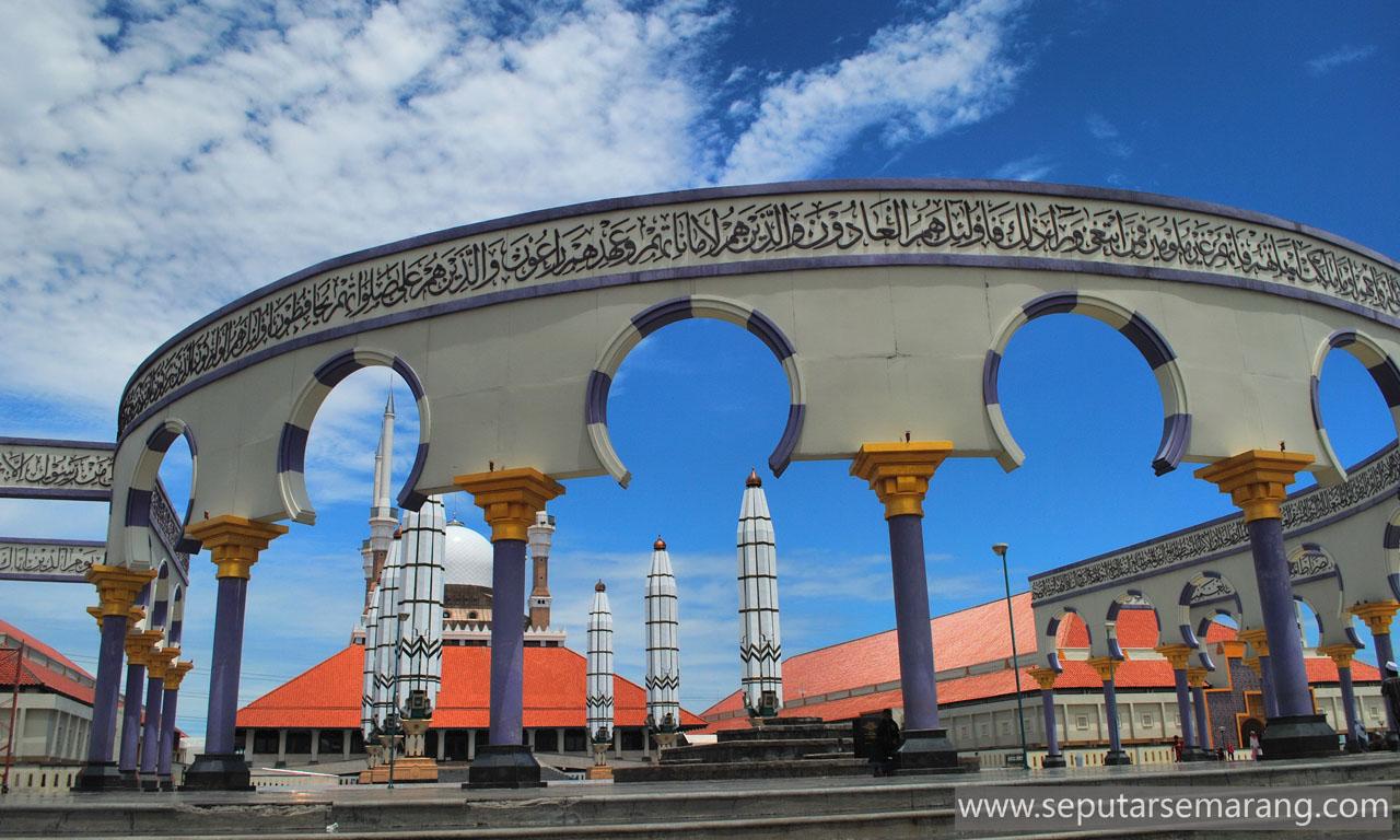 Masjid Agung Jawa Tengah Pilar Utama Jateng Kab Semarang
