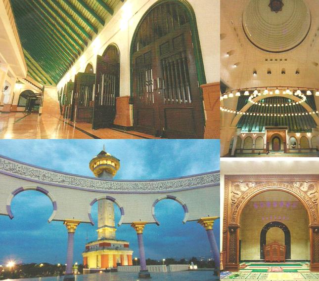 Masjid Agung Jawa Tengah Rumah Alloh Kab Semarang