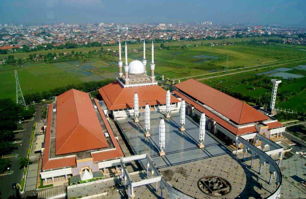 Masjid Agung Jawa Tengah Wisatajateng Kab Semarang