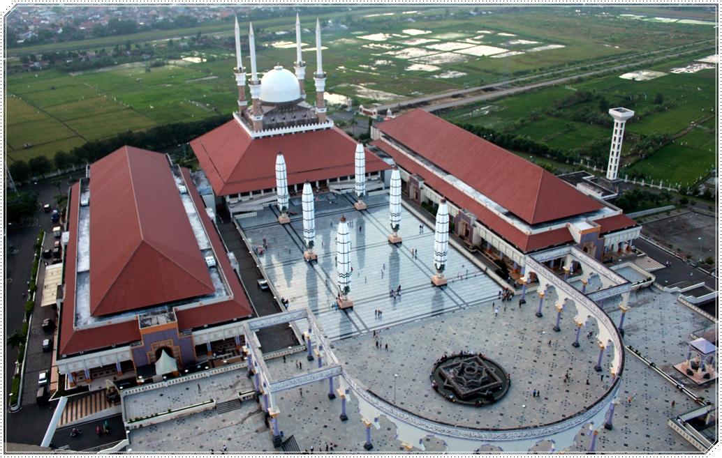 Pariwisata Jawa Tengah Masjid Agung Semarang Kab
