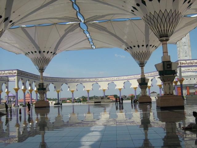 Payung Hidrolik Masjid Agung Jawa Tengah Javaloka Kab Semarang