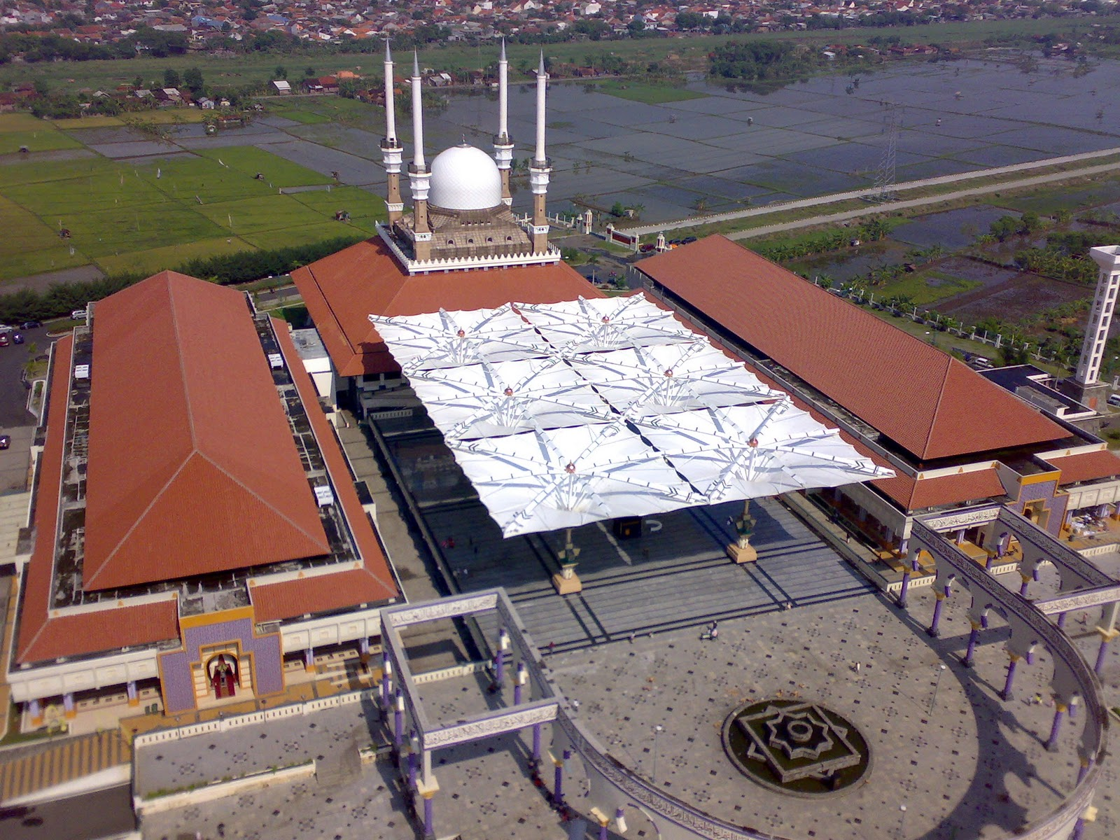 Rindu Masjid Agung Jawa Tengah Majt Payungnya Terkembang Foto Panoramio