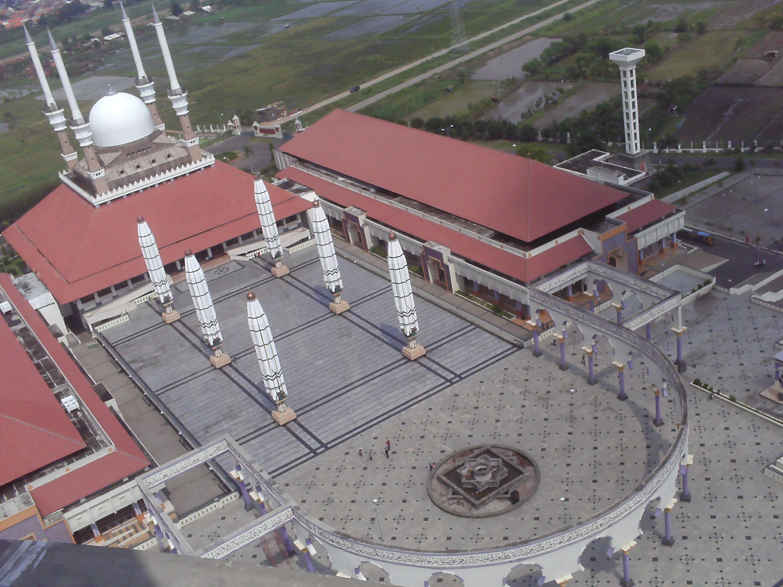 Semarang Picture Jalan Simpang Lima Masjid Agung Jawa Tengah Kab