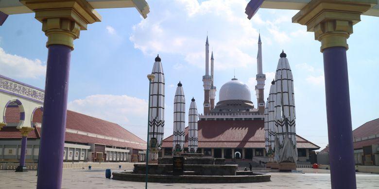 Sepenggal Sejarah Masjid Agung Jawa Tengah Kompas Kemegahan Semarang Perpaduan