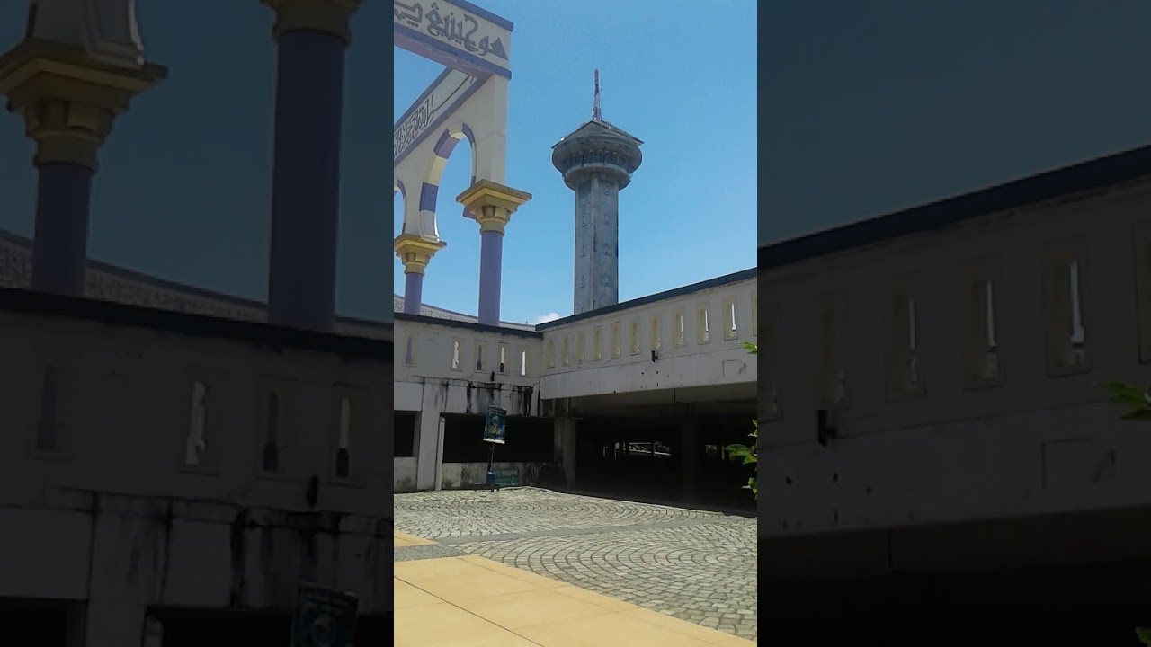 Suara Adzan Masjid Agung Jawa Tengah Semarang Youtube Kab