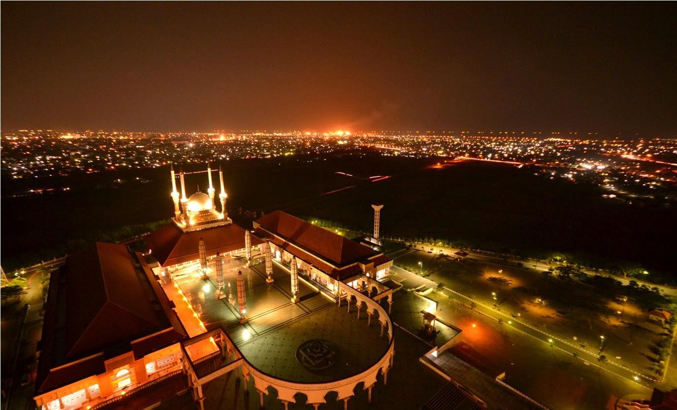 Wisata Masjid Agung Jawa Tengah Majt Semarang Fresh Natural Indonesia