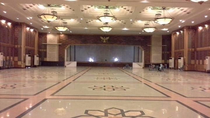 Wisata Religi Masjid Agung Jawa Tengah Kota Semarang Interior Kab