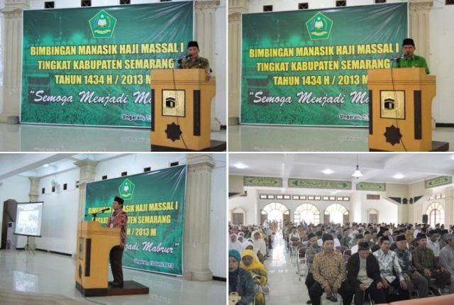 Bimbingan Manasik Massal Kabupaten Semarang 1434 2013 Masjid Agung Ungaran