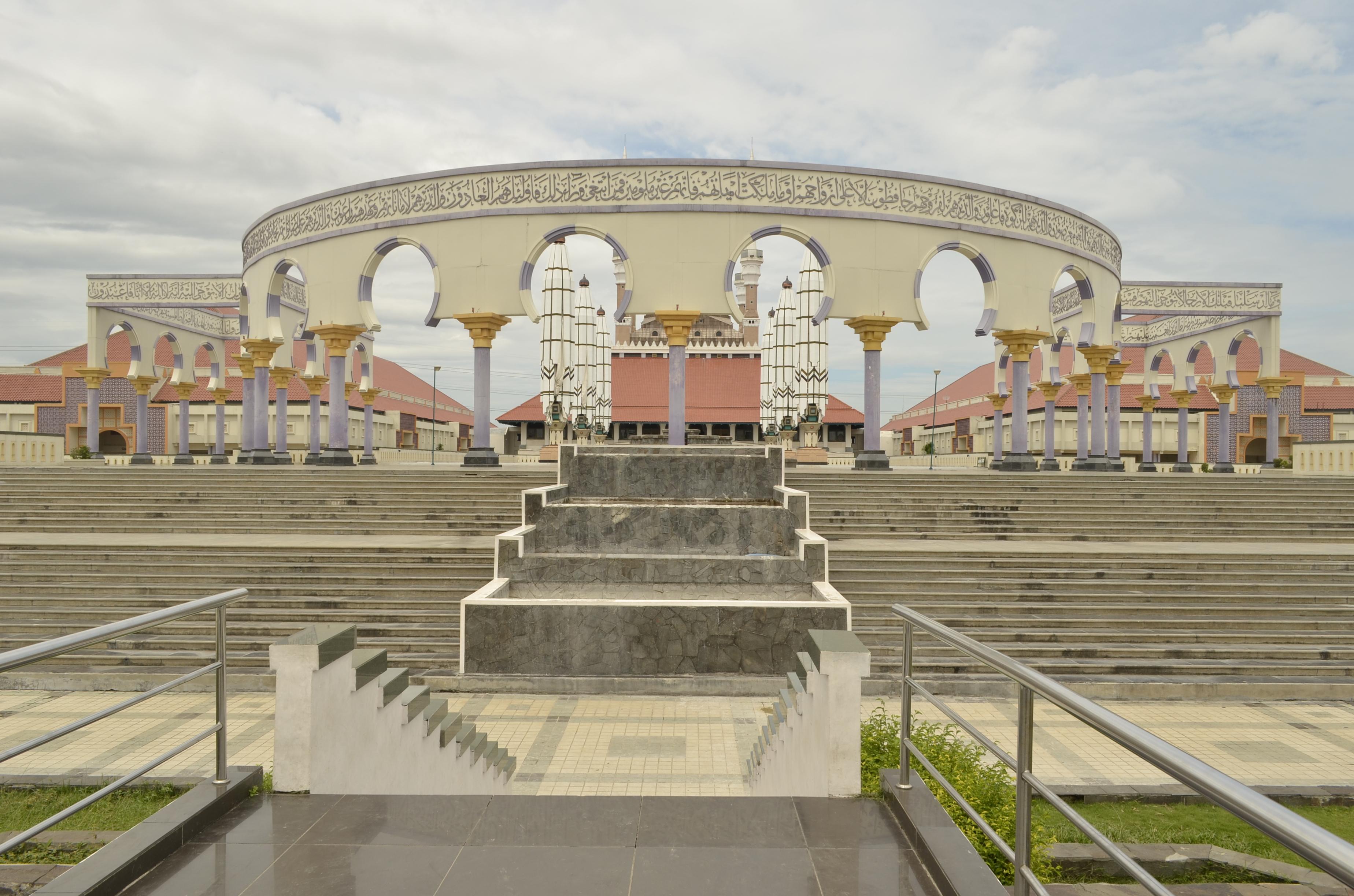 Gereja Blenduk Catatan Mungil Kaligrafi Majt Masjid Agung Ungaran Kab