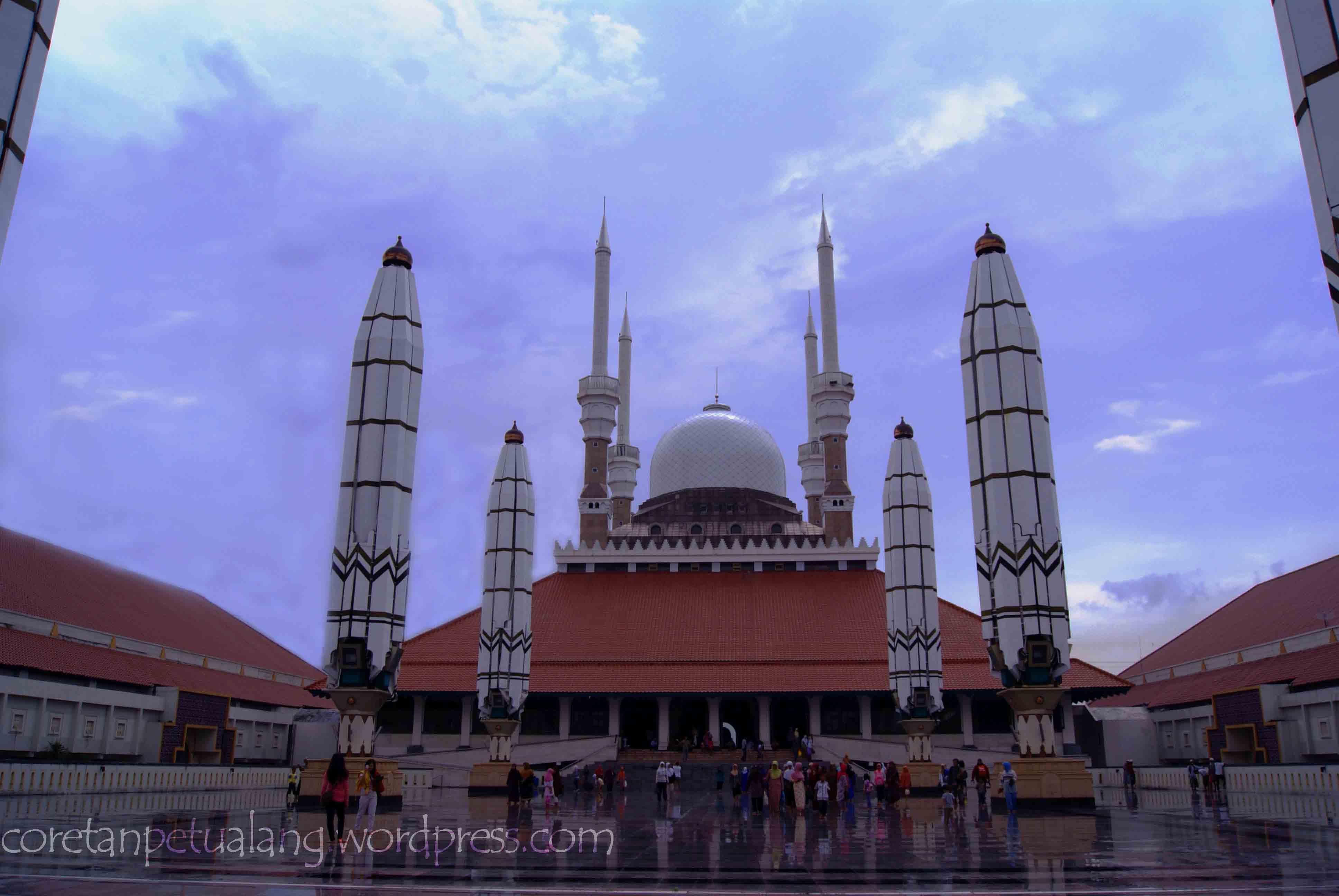 Masjid Agung Jawa Tengah Berbagai Sisi Coretanpetualang Blog Dijawa Ungaran