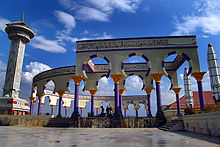 Masjid Agung Jawa Tengah Wikipedia Bahasa Indonesia Ensiklopedia Menara Pilar