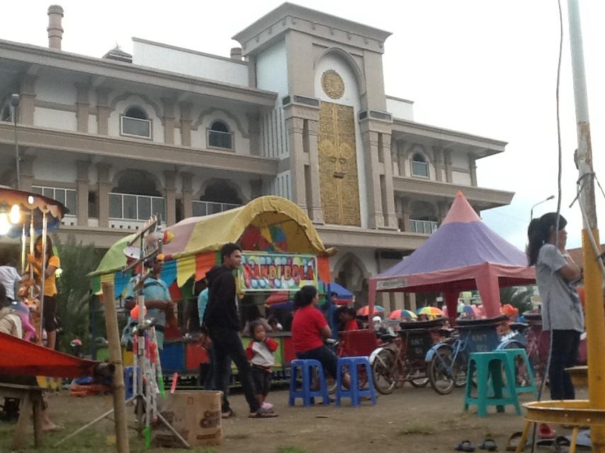 Masjid Agung Ungaran Sinaga17 Alun Mini Kab Semarang