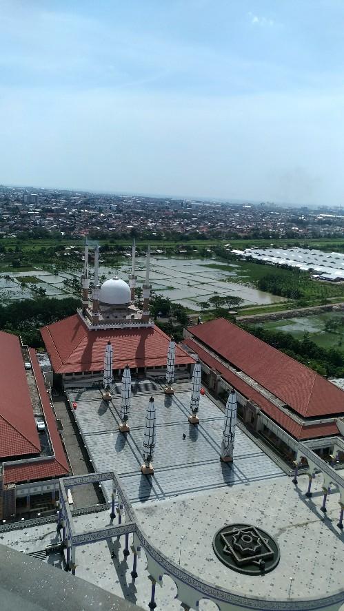Semarang Coret Menikmati Indahnya Masjid Agung Jateng Maksud Mimin Sedulur