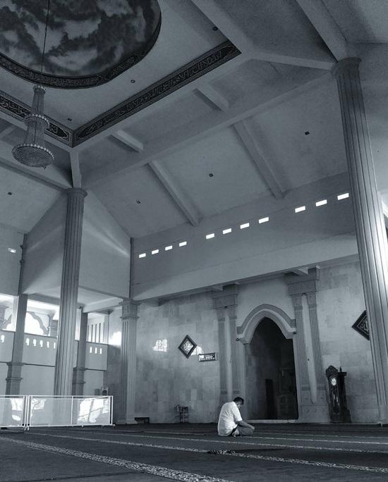 Singgah Masjid Agung Al Mabrur Ungaran Interior Foto Ig Galih