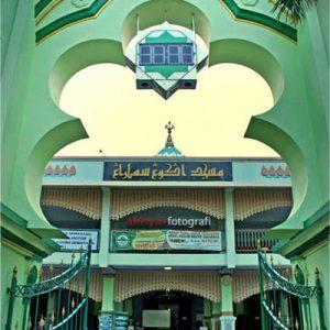 12 Foto Masjid Kauman Johar Semarang Letak Lokasi Alamat Pintu