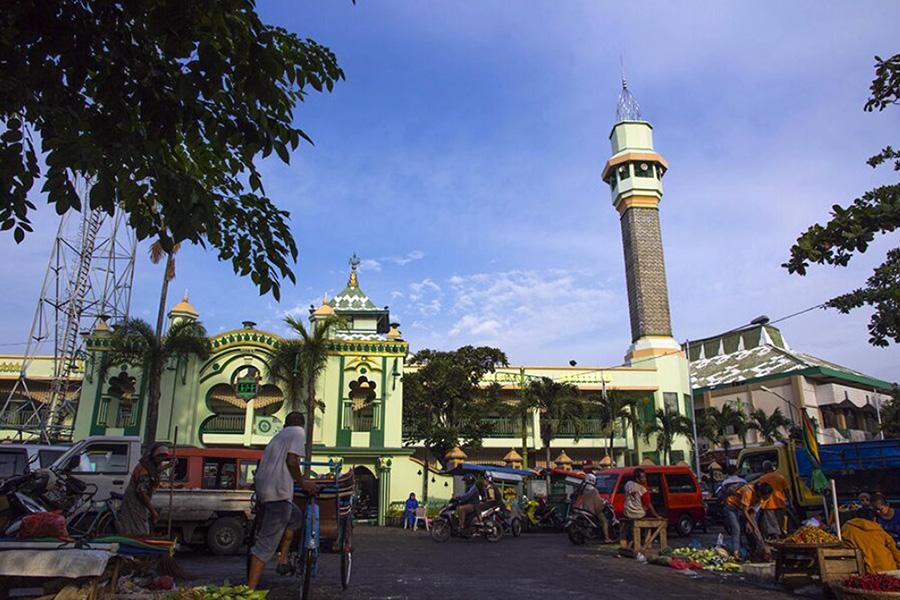90 Tempat Wisata Semarang Menarik Wajib Dikunjungi Masjid Kauman Kab