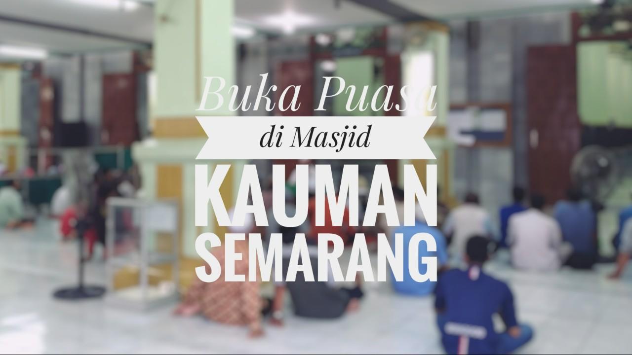 Berbuka Puasa Masjid Kauman Semarang Kab