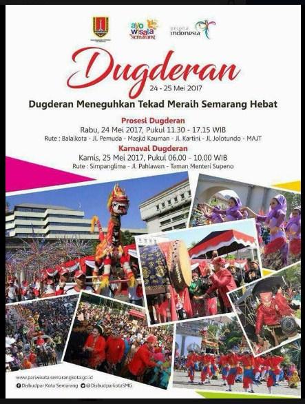 Karnaval Dugderan Mei 2017 Semarang Dienjoybisnis Menyambut Bulan Ramadhan Masjid